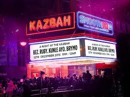 a night at the kazbah